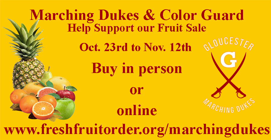 Marching Dukes & Color Guard Fruit Sale